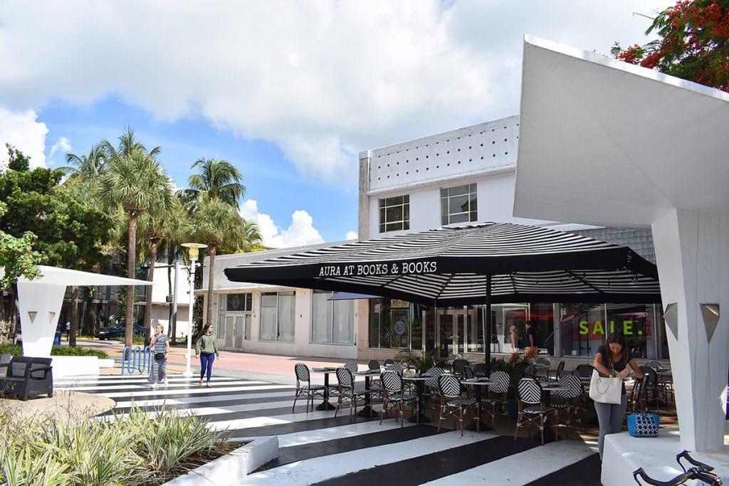 Lincoln Road Mall, la rue la plus commerçante de Miami Beach