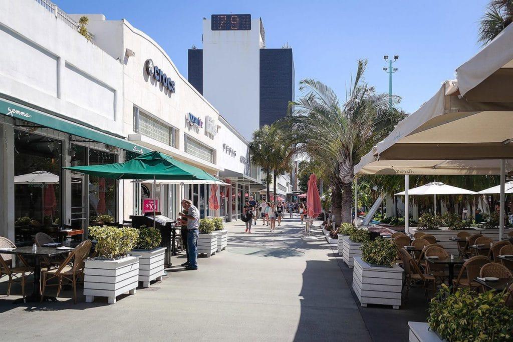 Les restaurants de Lincoln Road Mall à Miami Beach