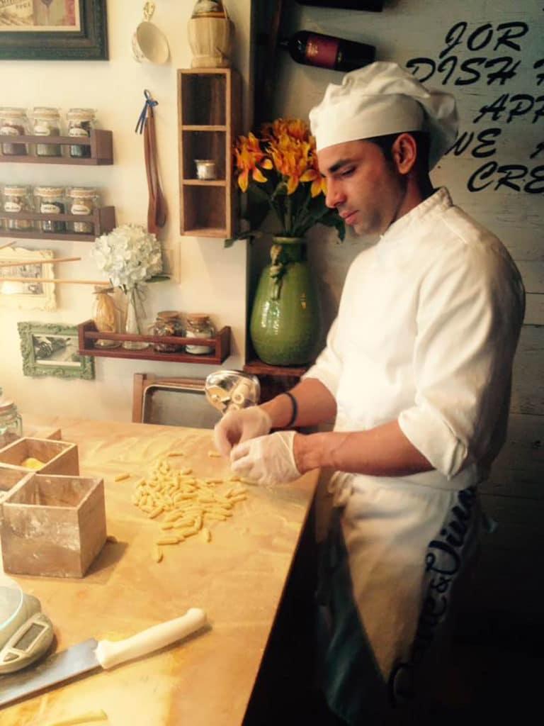 Pane & Vino, meilleur restaurant italien sur Espagnola Way à Miami Beach